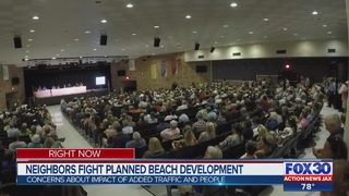Neptune Beach residents voice concern about development in old Kmart shopping center