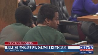 UNF student faces judge on new charges of video voyeurism