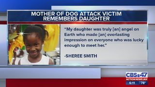 Mother of dog attack victim remembers daughter