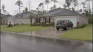 Mother deployed overseas frustrated with leaks in brand-new Jacksonville home