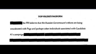 FBI releases declassified Carter Page FISA applications