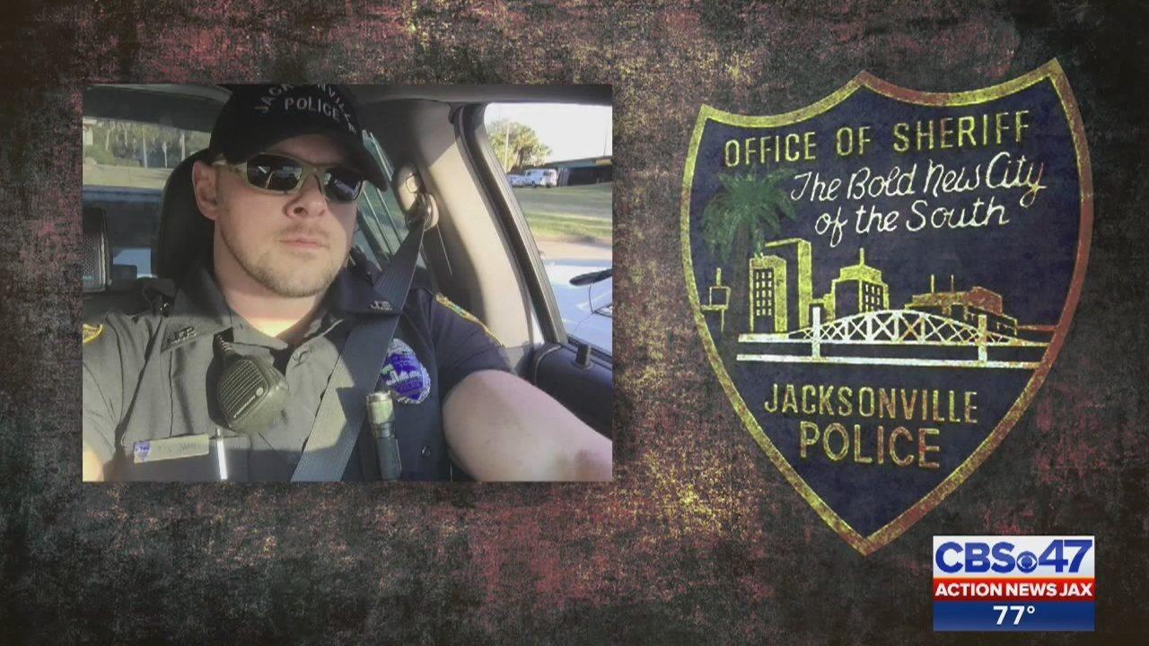 JSO Officer Timothy James: Officer arrested for battery on