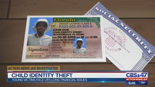 Action News Jax Investigates: Child identity theft