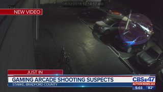 Starke double shooting at arcade caught on high-quality video