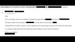 Retro Fitness Cancellation Letter.Gym Membership Cancellation Here S How Easy It Can Be To