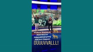"Jacksonville Jaguars: Action News Jax staff gives their best ""Duuuval"" chants"