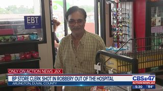 BP store clerk shot in robbery out of the hospital