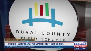 School workers overpaid for two years