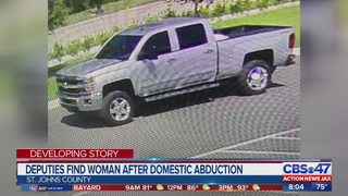 Deputies find woman after domestic abduction