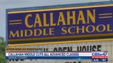 Callahan Middle cuts all advanced classes