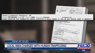 Local man charged with human trafficking