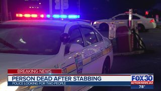 Person dead after stabbing
