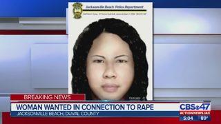 Jacksonville Beach police arrest rape suspect; Woman sought
