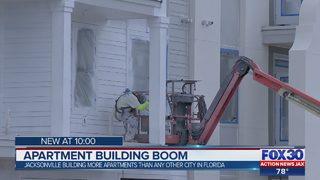 Apartment building boom