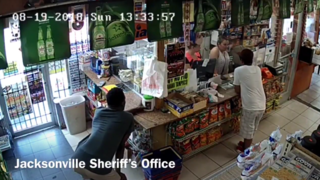 Video captures suspect stealing fundraising jar for 7-year-old Jacksonville girl killed