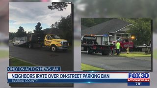 Neighbors irate over on-street parking ban