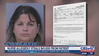 Local caregiver accused of stealing over $41,000 from elderly patient