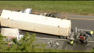 Crash involving multiple semi trucks shut down I-10 for hours in Macclenny