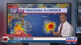 Tracking Hurricane Florence - Early Evening