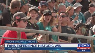 Nearly two dozen Jaguars fans taken to hospital for heat-related issues