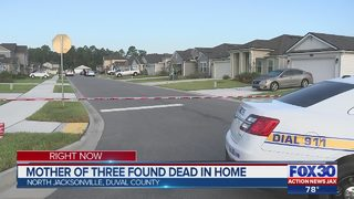 Mother of three found dead inside home