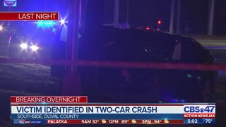 Jacksonville man dies in two-car crash near AC Skinner Parkway