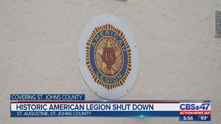 St. Augustine American Legion hall abruptly closes its doors
