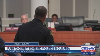 Jacksonville city leaders discuss funding to help combat domestic violence