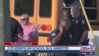 Westside high school student tased and arrested after witnessing bus stop shooting
