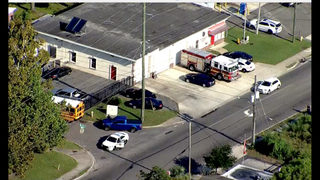 Photos: Jacksonville student shot at bus stop, dropped off at fire station