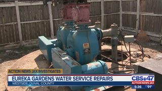 Eureka Gardens residents relieved water hasn