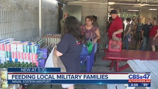 Making sure military families stationed at Naval Station Mayport don