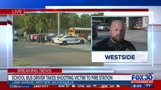 JSO: Student shot at bus stop has life-threatening injury
