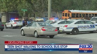 School bus driver takes Westside High School student with gunshot wound to fire station