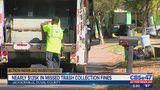 Nearly $135K in missed trash collection fines