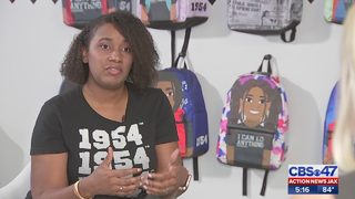 Business creates school merchandise for minority kids