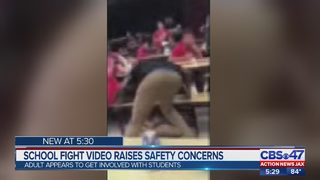 School fight video raises safety concerns