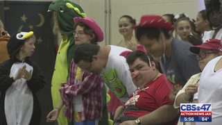 Special needs adults perform with ballet