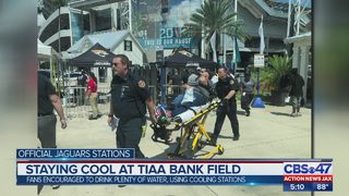 Staying cool at TIAA Bank Field