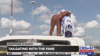 Jaguars fans talk beating the Titans before the game