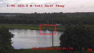 FHP: Jacksonville man charged in crash ending in two cars in a retention pond