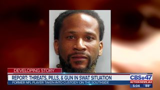 Report: Threats, pills and gun in swat situation