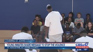 St. Augustine Boys and Girls Club gets eye-opening visit from young men St. Johns Youth Academy
