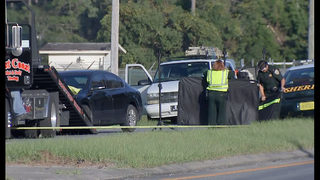 Photos: Fatal motorcycle accident closes U S  17 in Yulee