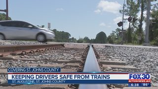 Operation Clear Track aims to get drivers, pedestrians off railroad tracks