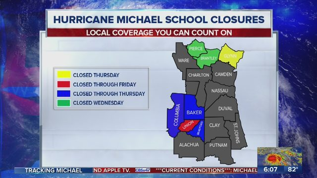 Hurricane Michael School Closings: Here is a list of Florida