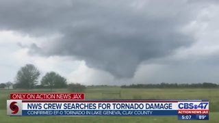 EF-0 tornado confirmed in Clay and Bradford Counties