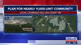 Plan for nearly 11,000-unit community