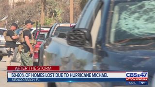50-60% of homes lost due to Hurricane Michael