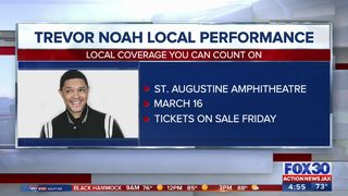 "Comedian Trevor Noah bringing ""Loud & Clear Tour"" to St. Augustine"
